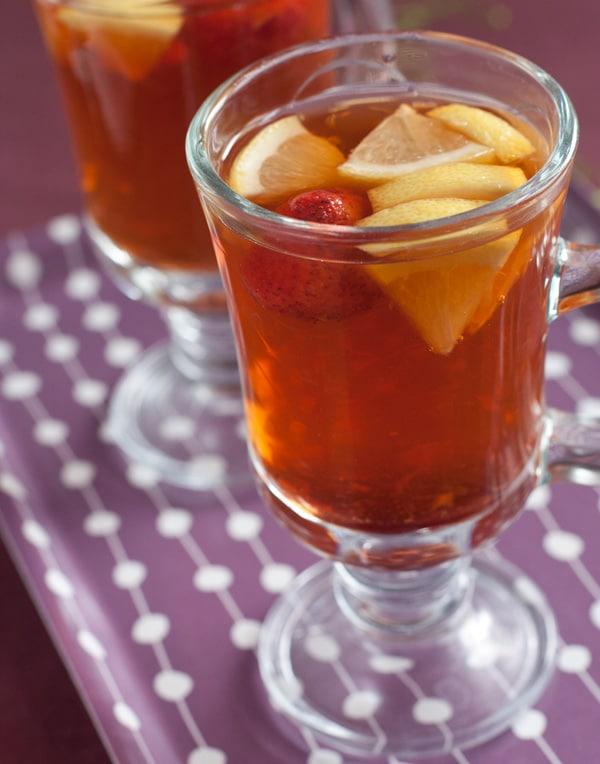 63 - Le thé de gingembre aux fraises