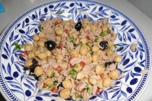 Salade de pois chciches turque