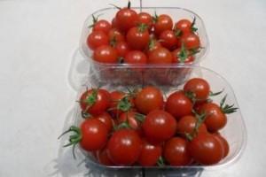 barquette de  tomates cerise