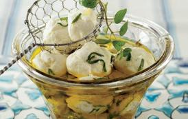 Boulettes de labneh à l'huile d'olive – Mezzés Bouchées Apéro