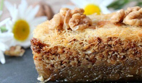 cuisine patisserie Ktayef 500x294 - Ktayef gâteau aux cheveux d'ange