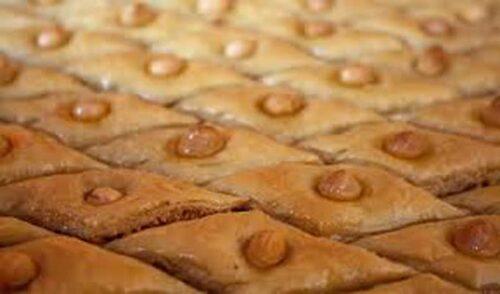 cuisine patisserie baklawa noisettes 500x294 - Baklawa aux noisettes