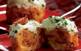 Cupcakes à l'italienne au pecorino et tomates confites - Versions salées