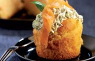 Cupcakes au saumon fumé - Versions salées