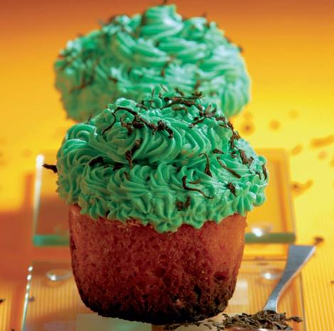 cupcakes the vert - Cupcakes au thé vert et aux graines de fenouil - Versions salées