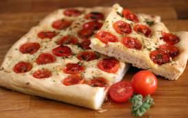 Fouace aux tomates et origan