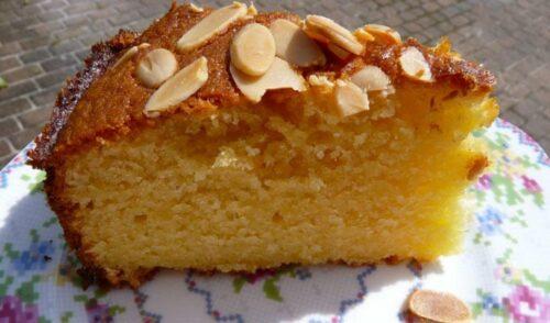 gateau amandes baya 500x294 - Gâteau aux amandes
