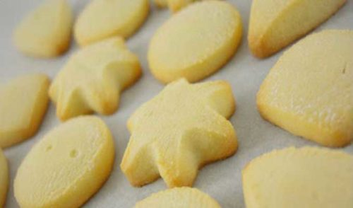 ghraiba farine recette 500x294 - Ghrayba à la Farine
