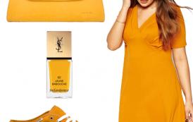 Le jaune moutarde sera couleur star de l'automne