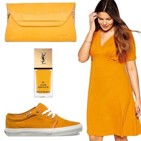 le jaune moutarde ma couleur de l automne - Le jaune moutarde sera couleur star de l'automne