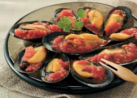 moules sauce piquante - Moules à la sauce piquante – Mezzés Bouchées Apéro