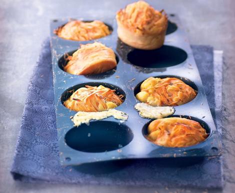 muffins gpuda - Expresso anywhere avec Handpresso