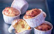 Muffins au cœur d'oignons confits - Muffins salés