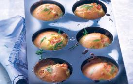 Moelleux au saumon fumé– Muffins salés