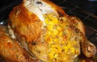 Poulet farci au poivron et fromage