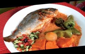 Couscous Djerbien aux poissons (Kosksi jerbi bel hout)