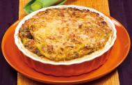 Tarte aux poireaux au curry et sans gluten