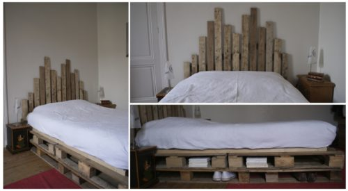 presentation lit palette 500x275 - Une tête de lit en palette et à hauteur variable