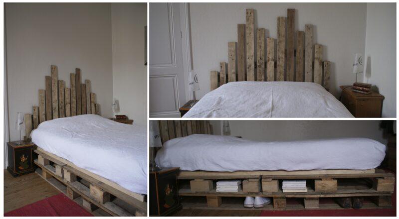 presentation lit palette 800x440 - Une tête de lit en palette et à hauteur variable
