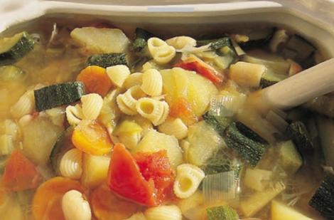 soupe minestrone - Soupe Minestrone - Entre et potage italiens