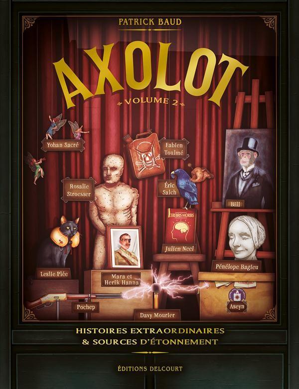 Axolot2 - Trois BD drôles et intelligentes !