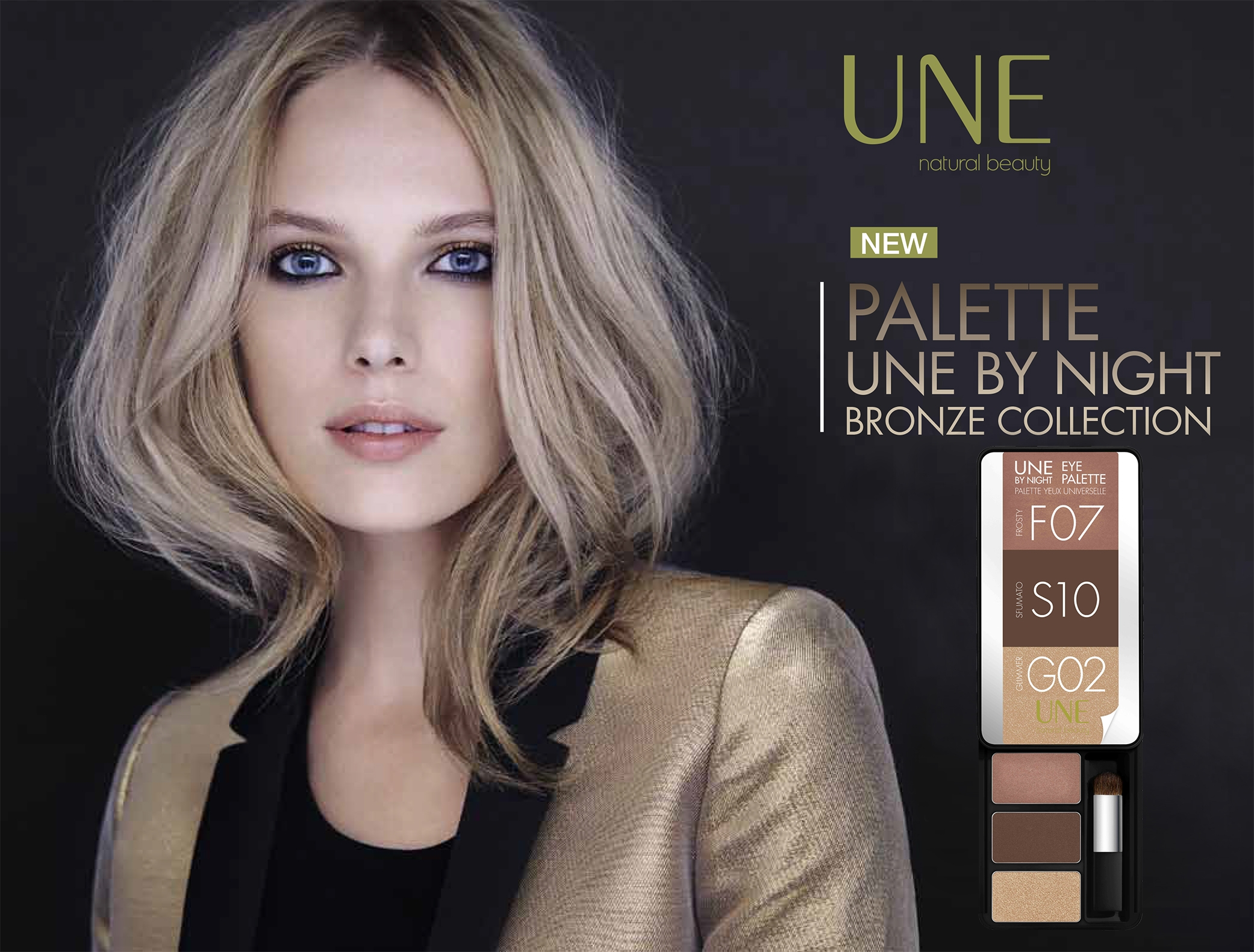 8f37d38783a38a0cd56de0d6399a8604 - UN REGARD ENVOÛTANT GRACE A LA PALETTE « UNE BY NIGHT »