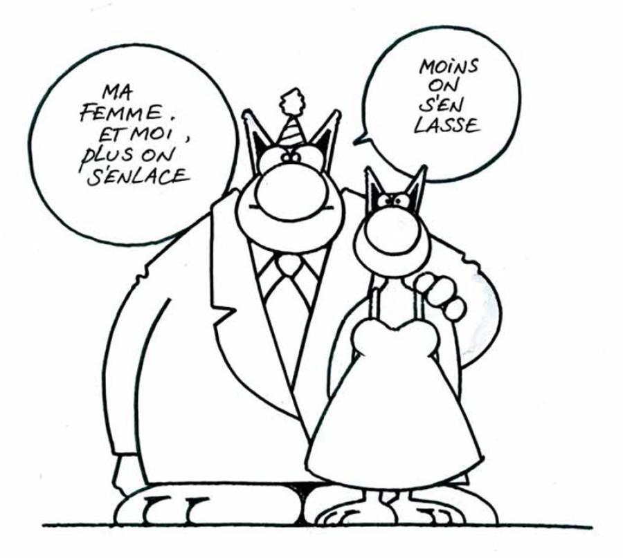aace0500343fbcc9cd86fffcfce70dd3 - Le Chat de Philippe Geluck... Une vraie cure de jouvence !