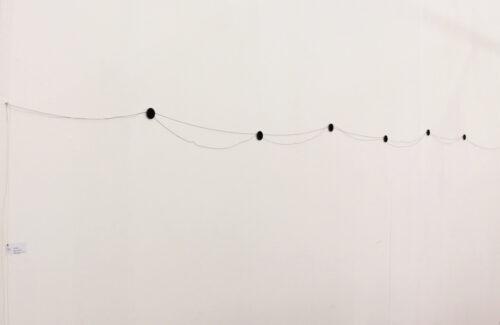 large wall drawing rolf julius 8a73f 500x325 - Exposition Music for the Eyes de l'artiste ROLF JULIUS à la Galerie Thomas Bernard-Cortex Athletico