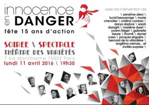 Innocence En Danger fête ses 15 ans d'action