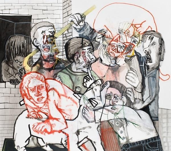 Sergio Moscona à la Galerie Claire Corcia