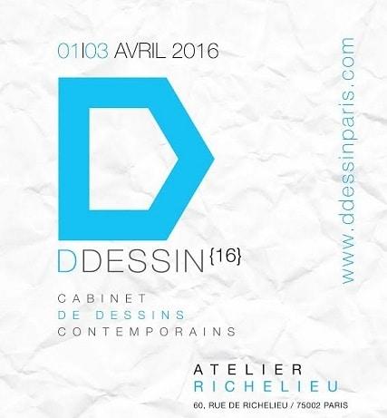 4ème édition de DDessin Paris à l'Atelier Richelieu