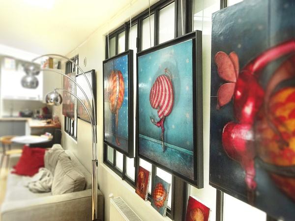2014 06 portes ouvertes atelier b   Copie aa800 - Jérémie Baldocchi nous ouvre les portes de son atelier ...