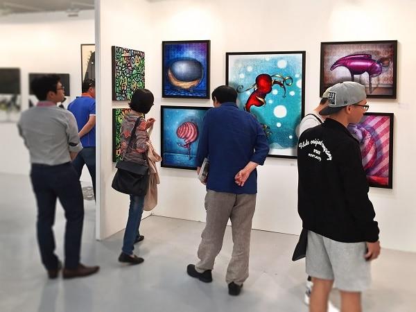 Foire Affordable Art Fair  Seoul a   Copie a8ef8 - Jérémie Baldocchi nous ouvre les portes de son atelier ...