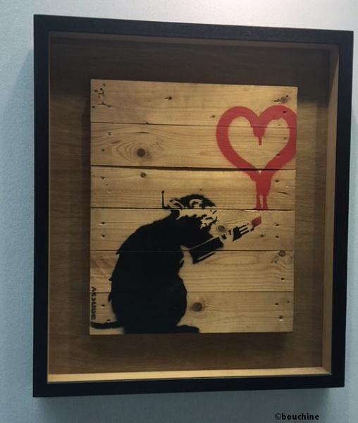 IMG 5001   Copie d2a99 1 - Et si nous prenions le Thalys pour aller admirer cette oeuvre monumentale de Banksy à Amsterdam ?