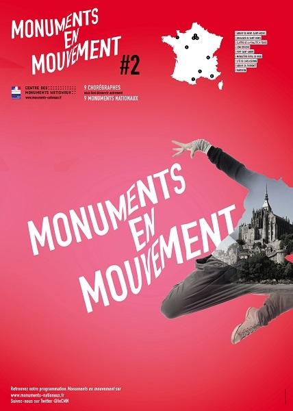 a2bacc7c0fc7b668b09342b87cc40cf3 - 2ème édition de Monuments en mouvement : Danse et Cirque dans les monuments nationaux