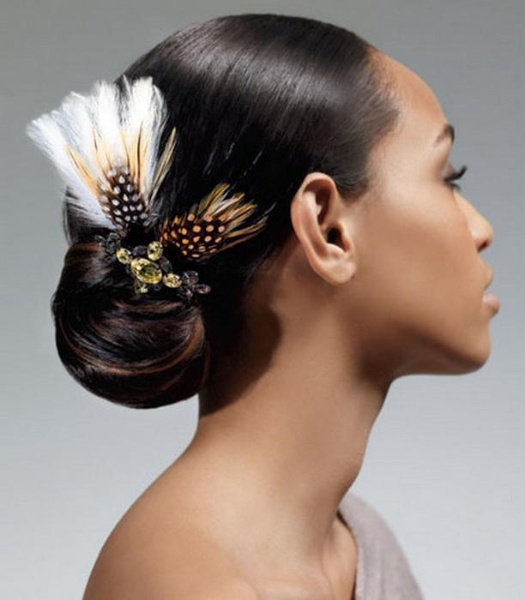 coiffure africaune mariage 02 - Cheveux afro : Idées de coiffures de mariage - Coiffure Africaine