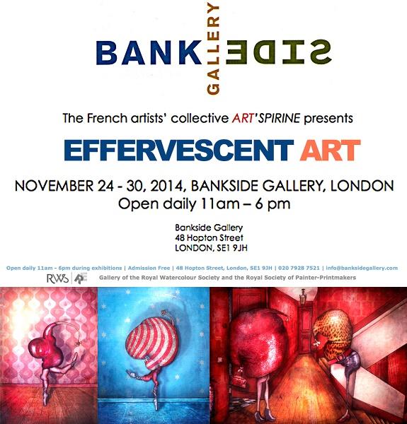 exposition peintre contemporain Expo Bankside Gallery London 24 au 30 nov 2014   Copie 99f84 - Jérémie Baldocchi nous ouvre les portes de son atelier ...
