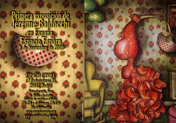 exposition peintre contemporain galerie espora   Copie 9edf6 - Jérémie Baldocchi nous ouvre les portes de son atelier ...