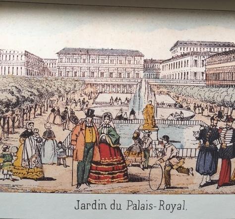 Jardin du Palais Royal 97623 1 - Paris par les images d'Epinal