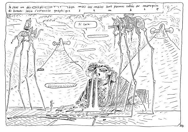 1. Je sens un decollationnage c Joann Sfar 2016   Copie 68b77 - Joann Sfar - Salvador Dali à l'Espace Dali