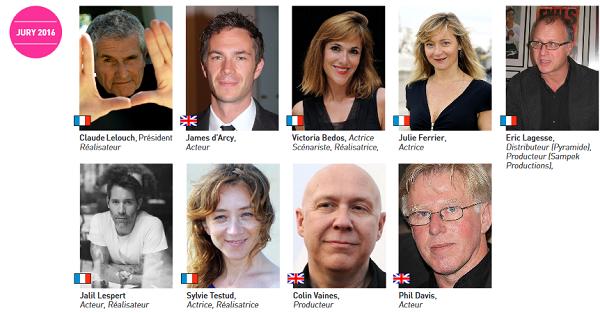 jury 2016 festival du film britannique de Dinard 768f0 - Claude Lelouch président du jury du 27ème Festival du Film Britannique de Dinard