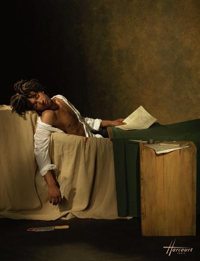 DOC GYNECO en MARAT dans sa baignoire Studio Harcourt 18de1 - Les expos à ne pas manquer cet automne ...