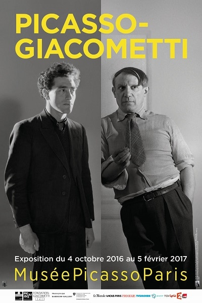 Picasso Giacometti Affiche40x60 low   Copie fe0cc - Les expos à ne pas manquer cet automne ...