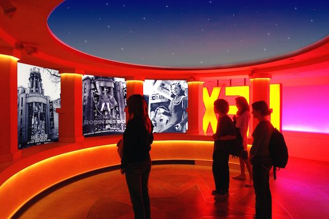 Salle des archives D.Adam   copie b24fc 1 - Les ETOILES DU REX un parcours d'immersion dans les coulisses du 7ème art