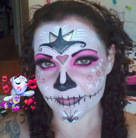 adcc34ae687cfbfd3c4bb99b0f159cac - Inspirations : maquillages spécial Halloween