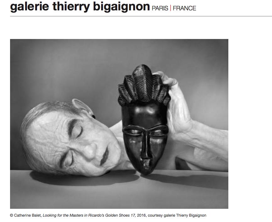 Galerie Thierry Bigaignon catherine Ballet ae26f - Fotofever Paris 2016, le rendez-vous incontournable de la photographie contemporaine