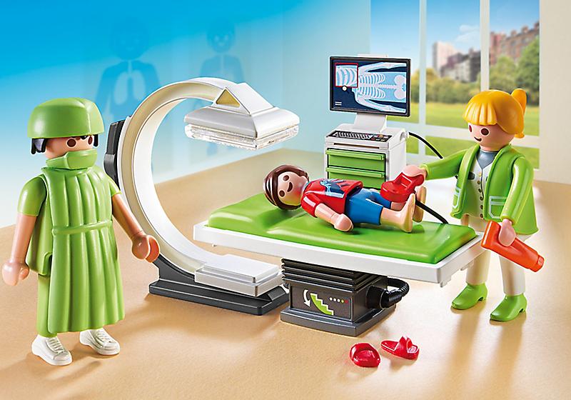 centre radiologie playmobil 15304 - Comment parler sereinement des problèmes de santé aux enfants.