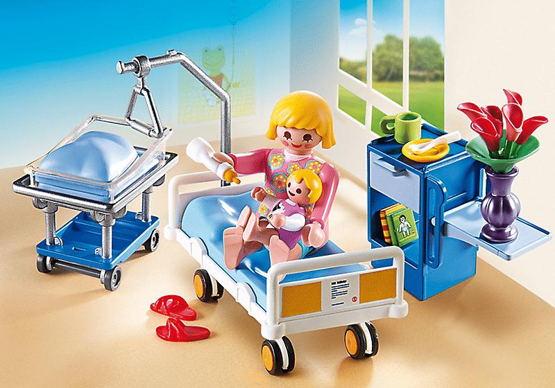 maternite playmobil e6611 - Comment parler sereinement des problèmes de santé aux enfants.