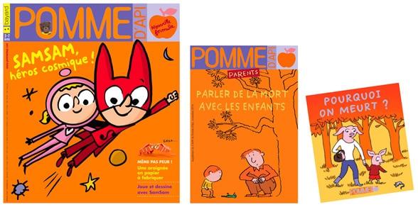 pomme dapi f9ce1 - Comment parler sereinement des problèmes de santé aux enfants.