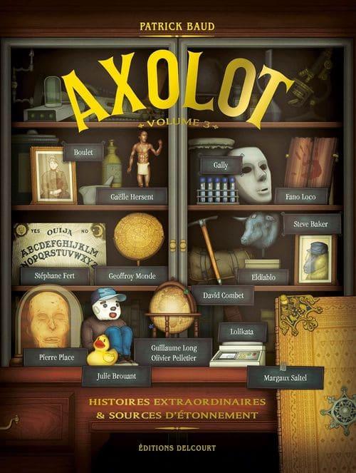 axolot - Quinze idées de lecture à mettre au pied du sapin!